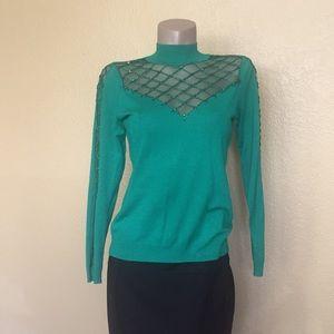 *Boston Proper Designer Sequin Sweater